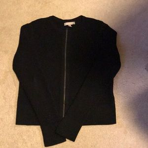 Banana Republic black cable sweater size XL